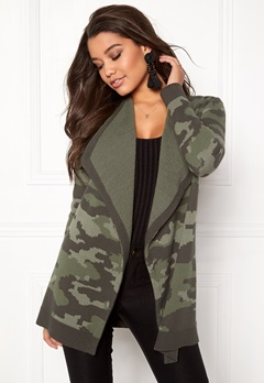 Happy Holly Tove cardigan Camouflage Bubbleroom.fi