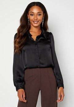 Happy Holly Trinity shirt blouse Black bubbleroom.fi