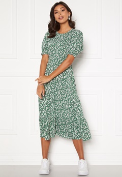 Happy Holly Tris dress Green / Patterned Bubbleroom.fi