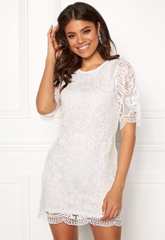 Happy Holly Vickan lace dress White Bubbleroom.fi