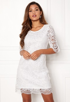 Happy Holly Vicky lace dress White Bubbleroom.fi