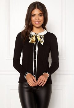 Happy Holly Vilma cardigan  Black Bubbleroom.fi