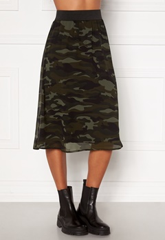 Happy Holly Zoey asymmetric skirt  Camouflage Bubbleroom.fi