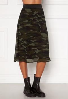 Happy Holly Zoey asymmetric skirt  Camouflage Bubbleroom.fi