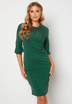 Happy Holly Zona dress Green / Floral bubbleroom.fi