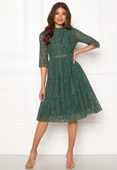 Happy Holly Madison lace dress Dusty green Bubbleroom.fi