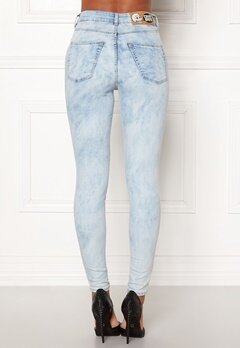 CHEAP MONDAY High Spray Blue Spider Blue Bubbleroom.fi