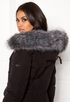 Hollies Collar Fake Fur Silver Bubbleroom.fi