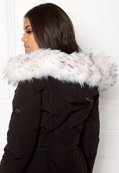 Hollies Collar Fake Fur White Bubbleroom.fi