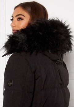 Hollies Collar Subway Fake Fur Black Bubbleroom.fi