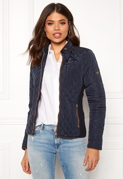 Hollies Ripon Jacket Navy Bubbleroom.fi