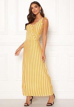 ICHI Clayton Dress 17018 Old Gold Bubbleroom.fi