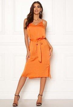 ICHI Crissy Dress 17667 Russet Orange Bubbleroom.fi