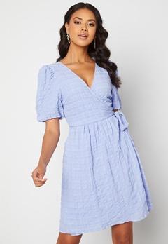 ICHI Gelby Dress Cashmere Blue Bubbleroom.fi