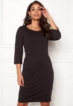ICHI Kate Slim Dress Black Bubbleroom.fi
