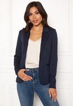 ICHI Kate Suit Jacket Total Eclipse Bubbleroom.fi