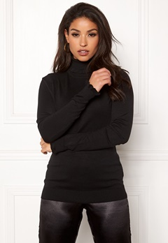 ICHI Mafa Long sleeve Black Bubbleroom.fi