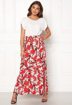ICHI Marrakech Skirt 16019 Poinciana Bubbleroom.fi