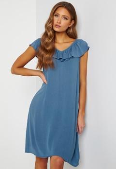 ICHI Marrakech SO Dress Coronet Blue bubbleroom.fi