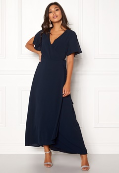 ICHI Zarun Dress 14044 Total Eclipse Bubbleroom.fi
