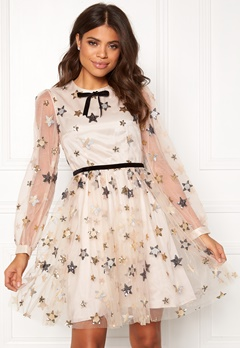 Ida Sjöstedt Macaron Dress Star Tulle Cream Bubbleroom.fi
