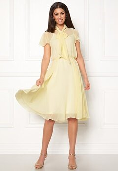 Ida Sjöstedt Polly Dress Light Yellow Bubbleroom.fi
