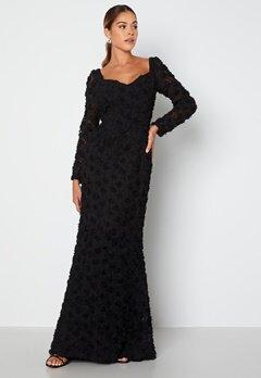 Ida Sjöstedt Selena Dress Black Bubbleroom.fi