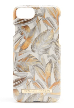 iDeal Of Sweden Fashion Case iPhone Platinum Leaves Bubbleroom.fi