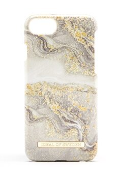 iDeal Of Sweden Fashion Case iPhone Sparkle Greige Marbl Bubbleroom.fi