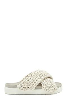 INUIKII Slipper Woven 101 White Bubbleroom.fi