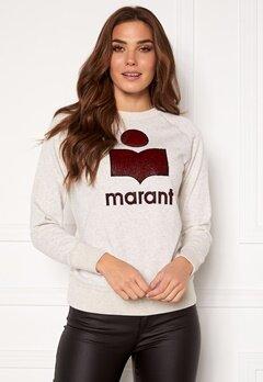 Isabel Marant Milly Sweater Ecru/Wine Bubbleroom.fi