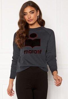 Isabel Marant Milly Sweater Faded Black Bubbleroom.fi