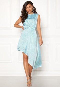 Ivyrevel Asymmetric Dress Light Blue Croco Bubbleroom.fi