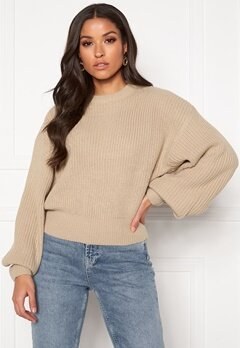 Ivyrevel Bat Rib Knit Dark Taupe Bubbleroom.fi