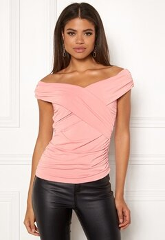 Ivyrevel Cross Front Top Blush Bubbleroom.fi