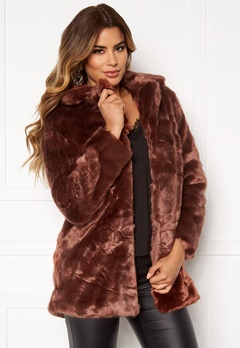 Ivyrevel Faux Fur Jacket Brown Bubbleroom.fi