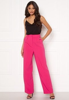 Ivyrevel Front Pleated Wide Pants Pink Bubbleroom.fi