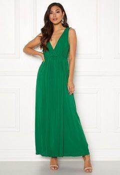 Ivyrevel Maxi Dress With Slit Verdant Green Bubbleroom.fi