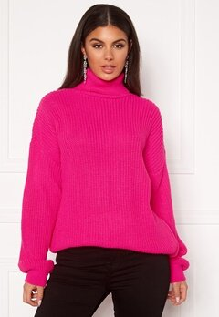 Ivyrevel Oversized Polo Sweater Pink Bubbleroom.fi