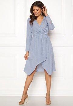 Ivyrevel Shirt Dress Blue Mix Bubbleroom.fi