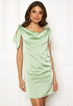 Ivyrevel Tie Shoulder Dress Pastel Green Bubbleroom.fi