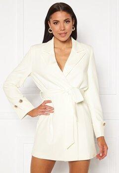 Ivyrevel Tied Waist Blazer Dress Off White Bubbleroom.fi