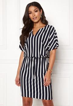 Jacqueline de Yong Alina S/S Dress Navy Blazer/Stripes Bubbleroom.fi
