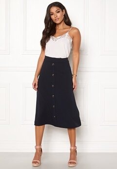 Jacqueline de Yong Bellis Button Skirt Sky Captain Bubbleroom.fi