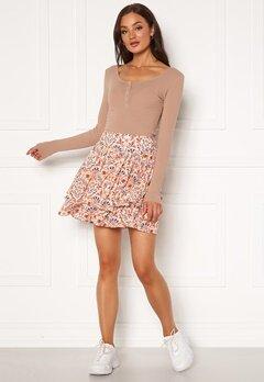 Jacqueline de Yong Caro Skirt Whisper Pink Bubbleroom.fi
