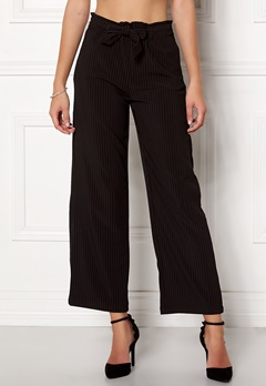 Jacqueline de Yong Chung Wide Pant Black/Stripes Bubbleroom.fi
