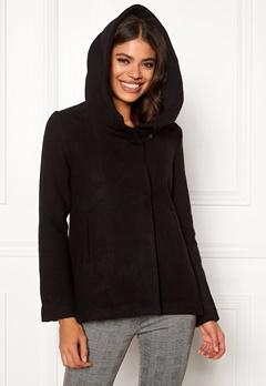 Jacqueline de Yong Eva Wool Jacket Black Bubbleroom.fi