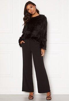 Jacqueline de Yong Giselle Wide Pants Black Bubbleroom.fi