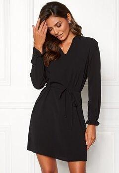 Jacqueline de Yong Gorgeous L/S Dress Black Bubbleroom.fi
