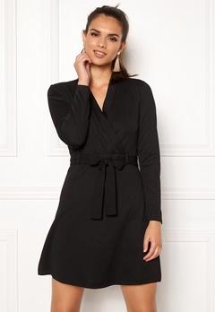 Jacqueline de Yong Honey L/S Dress Black Bubbleroom.fi